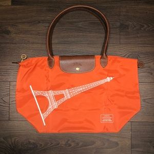 Longchamp Eiffel Tower Limited Edition Tote - NEW